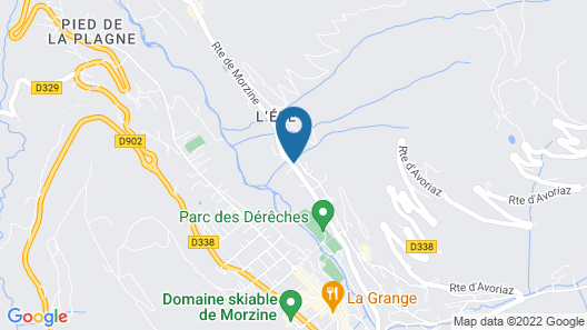 Emerald Stay Apartments Morzine - By EMERALD STAY Map