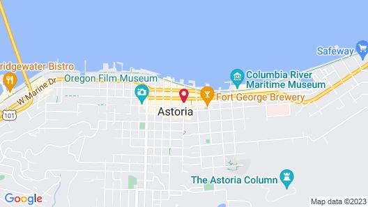 Hotel Elliott Map