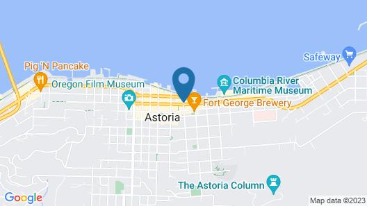 Selina Commodore Astoria Map