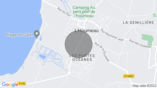 House Near the sea of Ile de Re Map