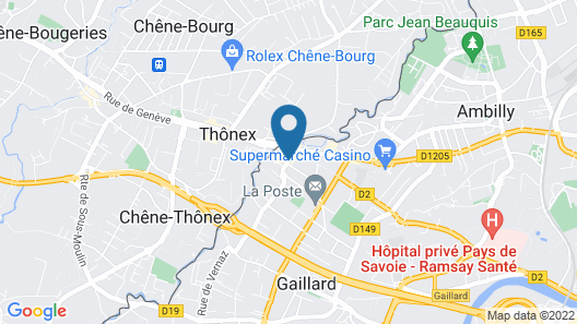 Geneva Residence Map