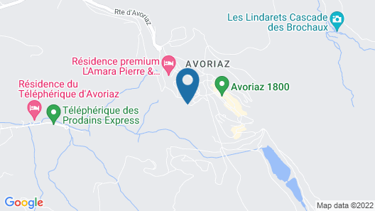 Résidence Saskia Falaise - Avoriaz Map