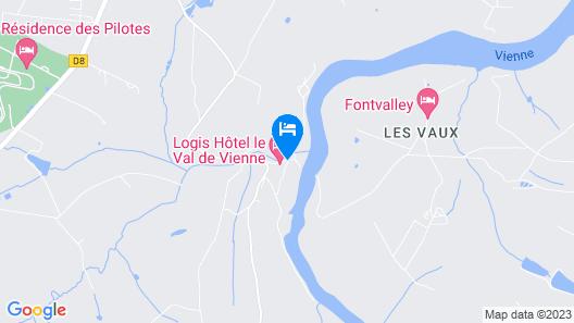 Hôtel Val de Vienne Map