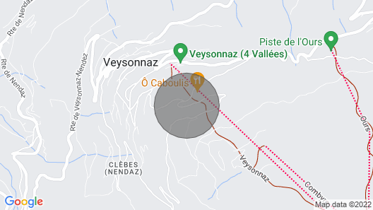 3 Bedroom Accommodation in Veysonnaz Map