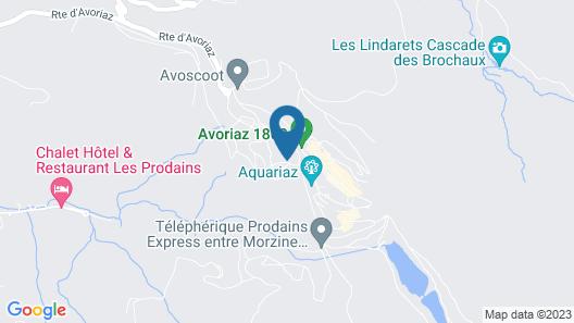 Résidence Pierre & Vacances Saskia Falaise Map