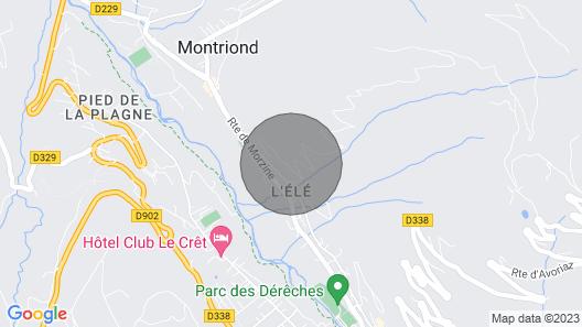Chalet Alpaga - Five Bedroom Villa, Sleeps 13 Map