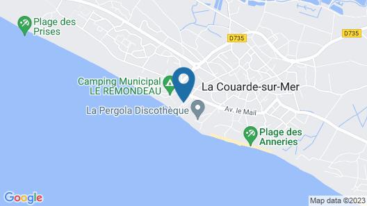 Appart'hôtel Perle de Ré Map