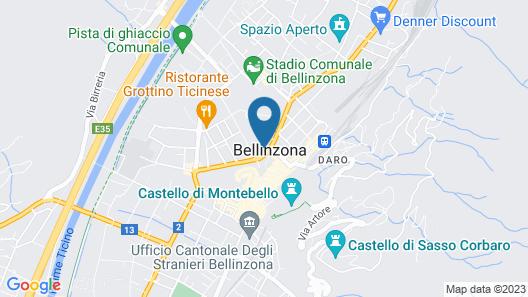 Hotel Unione Map