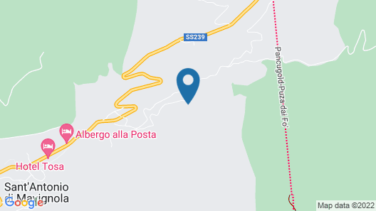 Chalet Campiglio Doss Map