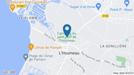 Camping Au Petit Port de l'Houmeau Map