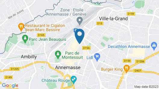 Appart'City Annemasse Centre Map