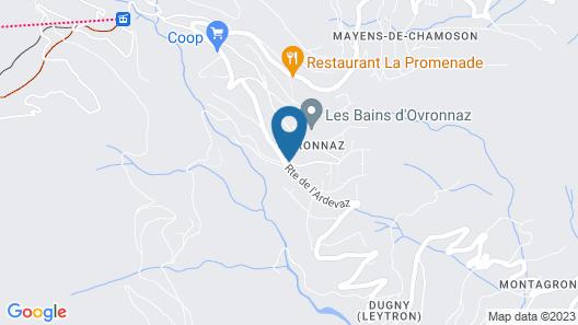 Le Vieux Valais à Ovronnaz Map