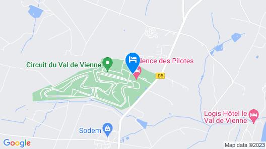 Résidence des Pilotes Map