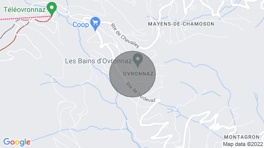 Apartment Les Hauts de Morthey in Ovronnaz - 6 Persons, 2 Bedrooms Map