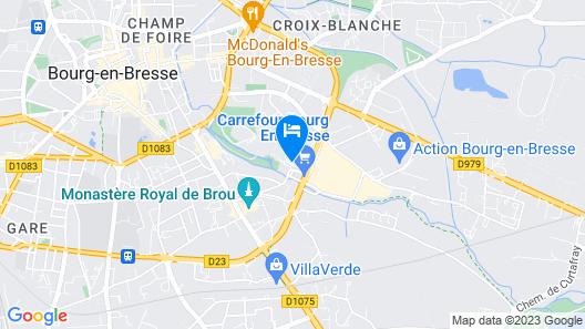 ibis Bourg En Bresse Map