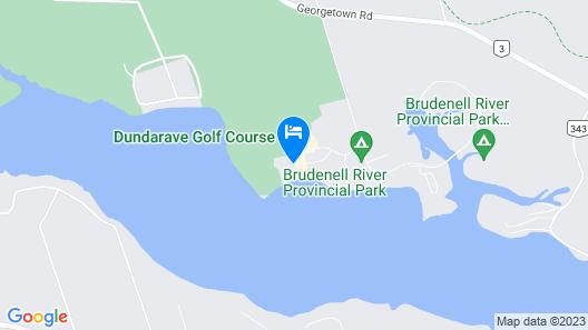 Rodd Brudenell River Map