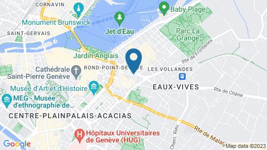 Sagitta Swiss Quality Hotel Map
