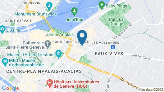 Hotel Century Map