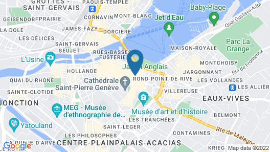 Hôtel de La Cigogne Map