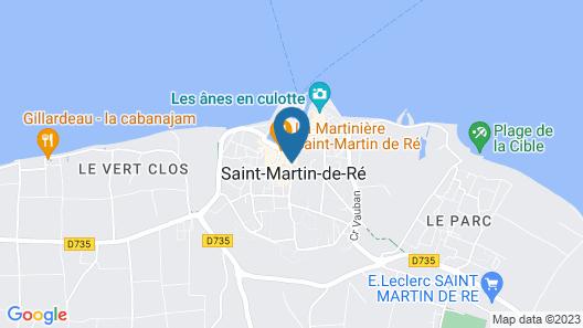 La Baronnie Hôtel & Spa Map