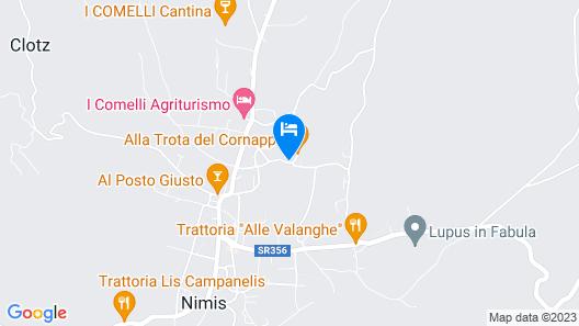 Agriturismo Al Vecchio Portico Map
