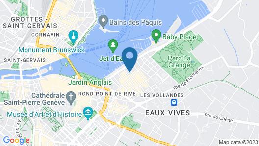 Hotel Churchill Map