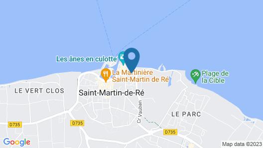 La Barbette Map