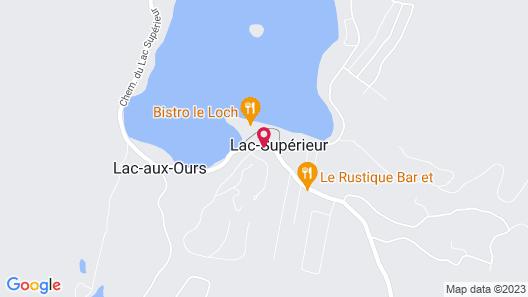 Suites Sur Lac Map