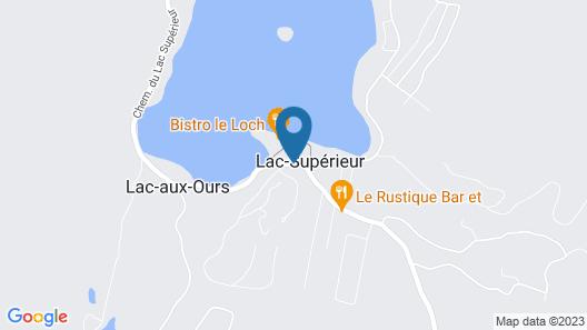 Tremblant Elysium Suites sur Lac Map