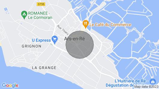 Maison sur ÎLE DE RÉ Map