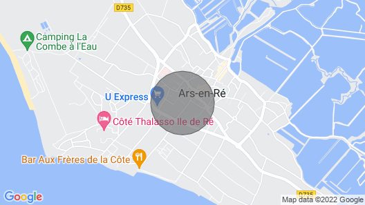 Charming Family Home in Ars en Ré Map