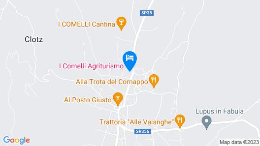 Agriturismo I Comelli Map