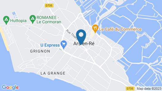 Hôtel Le Sénéchal Map