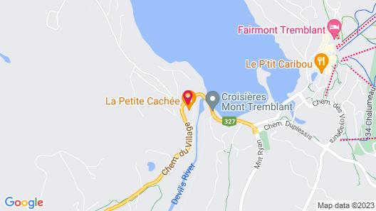 Les Chalets Sauvignon Map