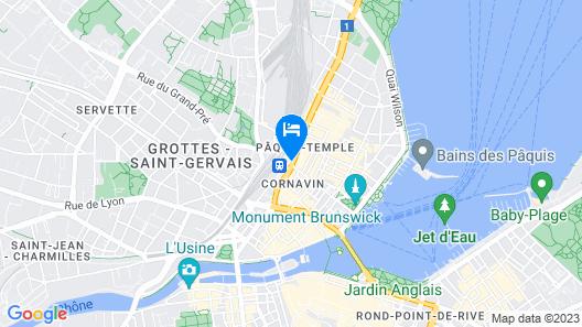 Warwick Geneva Map