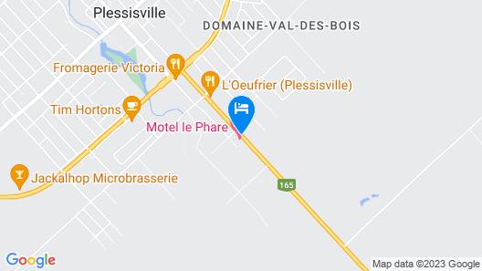 Motel le Phare Map