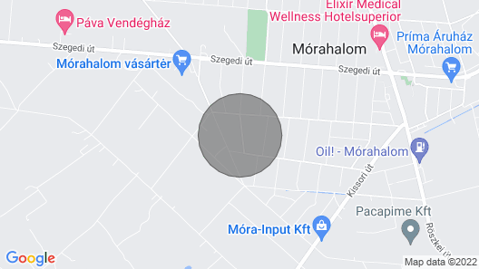 4 Bedroom Accommodation in Mórahalom Map