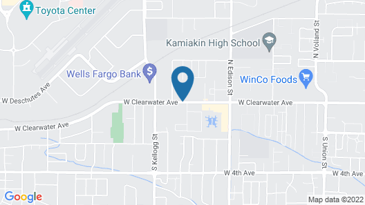 Red Lion Inn & Suites Kennewick Tri-Cities Map