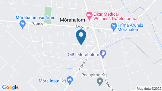 1 Bedroom Accommodation in Mórahalom Map