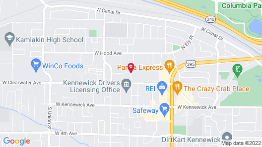 Kennewick Suites Map