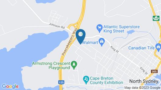 The Clansman Motel Map