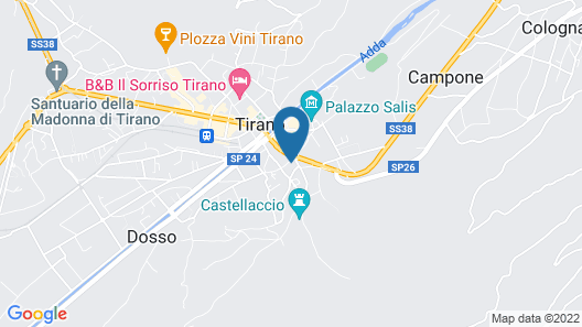 Curt di Clement Eco Mobility Hotel Map