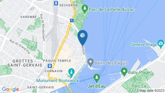 Hotel President Wilson, A Luxury Collection Hotel, Geneva Map