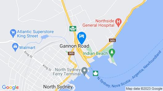 Hotel North Map