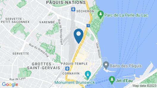 Design Hotel F6 Map