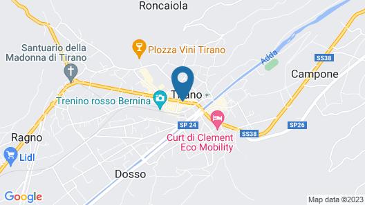 Hotel Corona Map