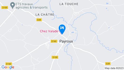 Chez Valade Map