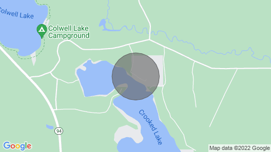 Crooked Lake Cottage Map