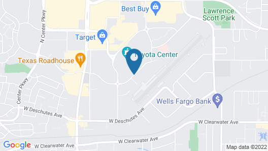 SpringHill Suites by Marriott Kennewick Tri-Cities Map