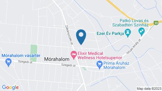 Oázis Apartmanok Map